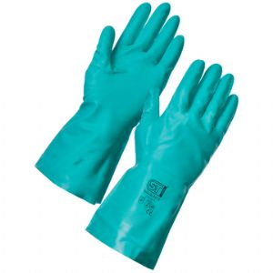 Nitrile Rubber Chemical Protection Gloves